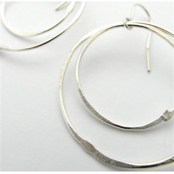 LA Jewellery Solstice Recycled Silver Earrings