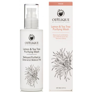 Odylique Purifying Lemon & Tea Tree Wash - 200ml