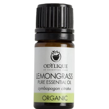 Odylique Organic Lemongrass Essential Oil - 5ml