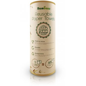 Bambaw Reusable Paper Towels - 20 Sheets