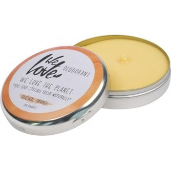 We Love the Planet Natural Deodorant Cream - Orange - 48g