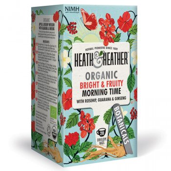 Heath & Heather Organic Morning Time Tea - 20 Bags