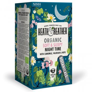 Heath & Heather Organic Night Time Tea - 20 Bags