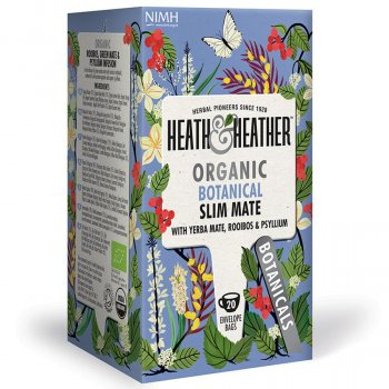 Heath & Heather Organic Botanical Slim Mate Tea - 10 Bags