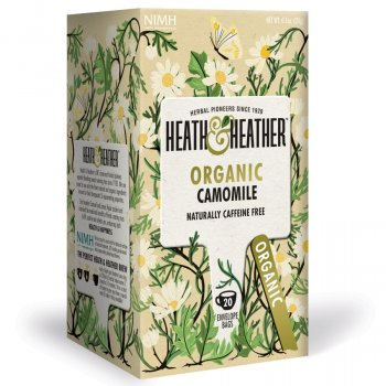 Heath & Heather Organic Chamomile Tea - 20 Bags