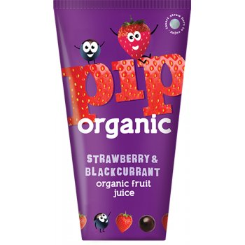 Pip Organic Strawberry & Blackcurrant Juice - 4 x 180ml