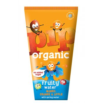 Pip Organic Mango, Orange & Apple Flavoured Water - 4 x 200ml
