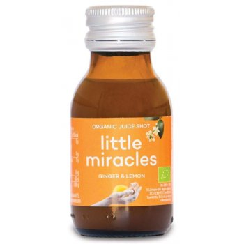 Little Miracles Organic Concentrate Juice Shot - Ginger & Lemon - 60ml