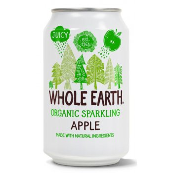 Whole Earth Sparkling Apple Juice - 330ml