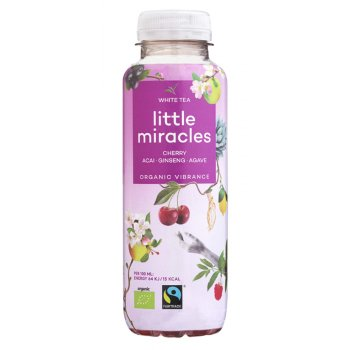 Little Miracles Organic Green Tea & Pomegranate Energy Drink - 330ml