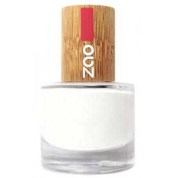 Zao Nail Polish - French White - 8ml