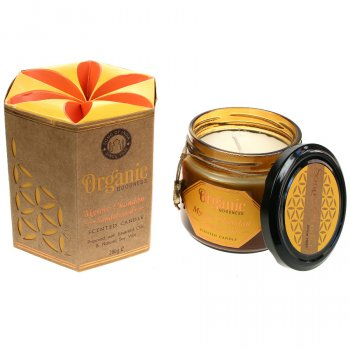 Organic Scented Soy Candle - Sandalwood