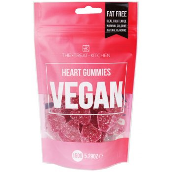 The Treat Kitchen Vegan Hearts Pouch - 150g
