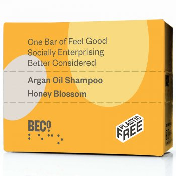 BECO Honey Blossom Shampoo Bar - 90g