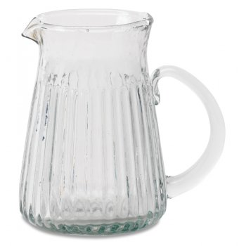 Ruri Recycled Glass Jug - Large