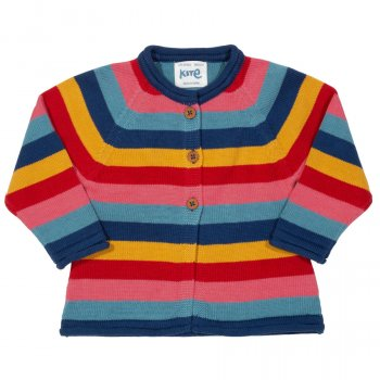 Kite Stripy Kitty Cat Cardi