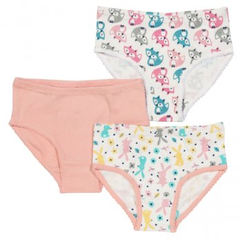 Kite Fox & Hare Briefs - Pack of 3