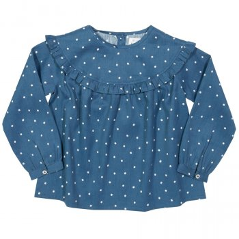 Kite Spotty Frill Blouse