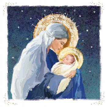 Madonna & Child Charity Christmas Cards - Pack of 10