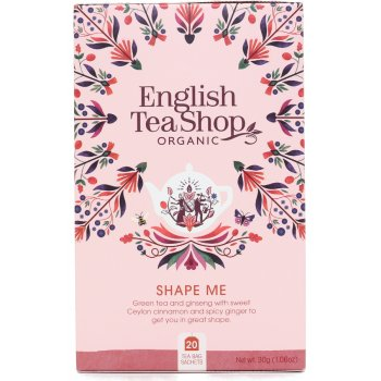 English Tea Shop Organic Shape Me Tea - 20 Tea Bags