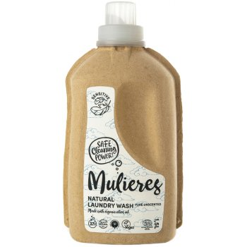 Mulieres Natural Organic Laundry Liquid - Pure Unscented - 1.5L