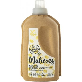 Mulieres Natural Organic Laundry Liquid - Fresh Citrus - 1.5L