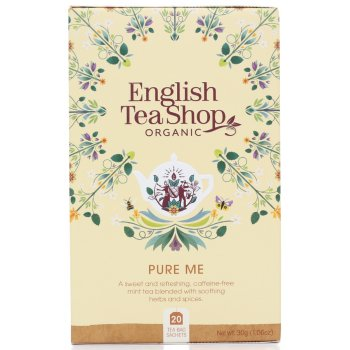 English Tea Shop Organic Pure Me Tea - 20 Tea Bags