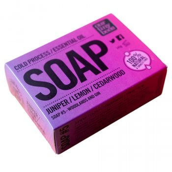 Our Tiny Bees Cold Pressed Soap - Juniper & Cedarwood - 140g