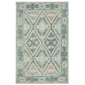 Ashoka Hand Tufted Indian Wool Rug - 120 x 180cm
