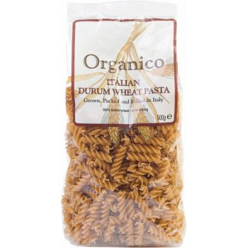 Organico Wholewheat Fusilli - 500g
