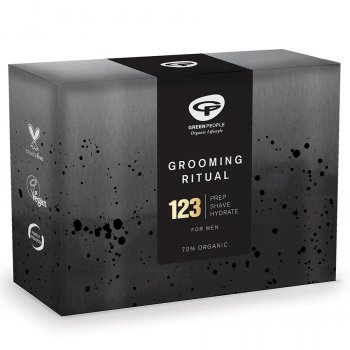 Green People Grooming Ritual for Men Gift Set