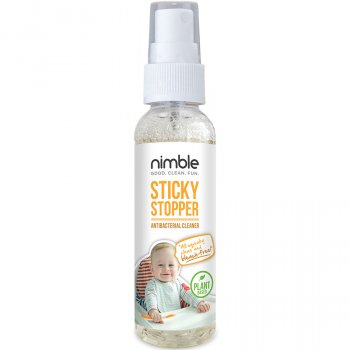 Nimble Sticky Stopper Antibacterial Cleaner Travel Size - 60ml