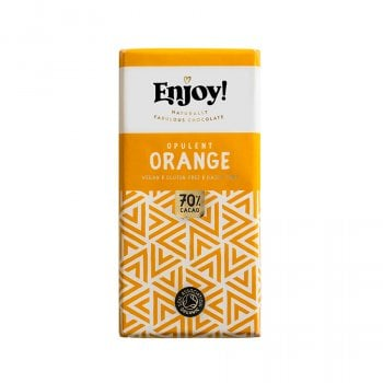 Enjoy Vegan Orange Chocolate Bar - 35g
