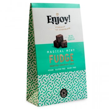 Enjoy Vegan Mint Chocolate Fudge - 100g