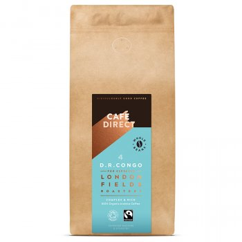 Cafedirect London Fields Congo Organic Coffee Beans - 1kg