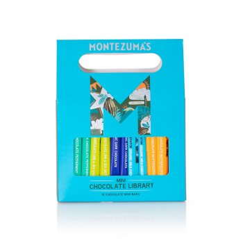 Montezumas Mini 10 Bar Chocolate Library - 250g