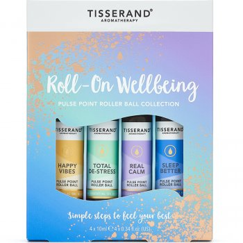 Tisserand Roller-On Wellbeing Oils Gift Set