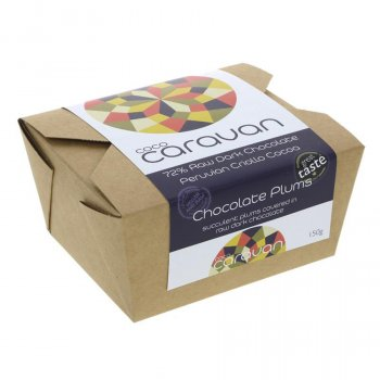Cococaravan Chocolate Covered Plums - 150g