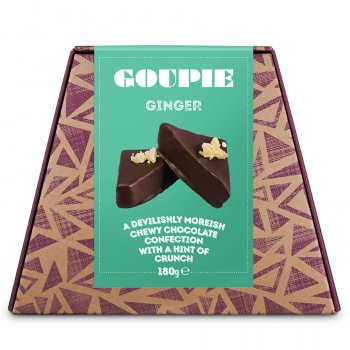 Goupie Ginger Chocolates - 180g