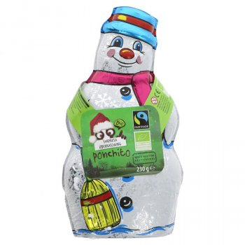 Ponchito Large Milk Chocolate Surprise Snowman - 230g
