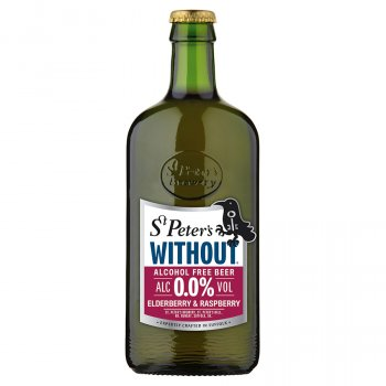 St Peter's Without Alcohol Free Beer - Elderberry - 500ml