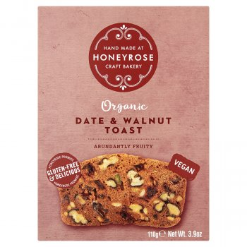 Honey Rose Date & Walnut Toast - 110g