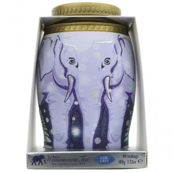 Williamson Tea Earl Grey Elephant Gift Caddy - 100g