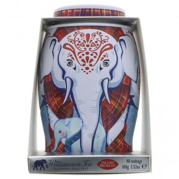 Williamson Tea English Breakfast Elephant Gift Caddy - 100g