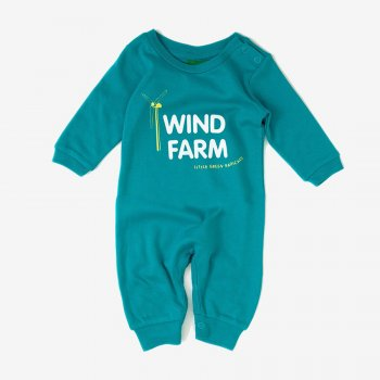 Little Green Radicals Wind Farm Babygrow