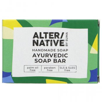 Alternative by Suma Handmade Ayurvedic Soap Bar - 95g