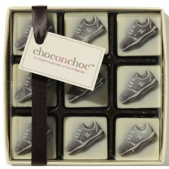 Handmade Chocolate Trainers - 9 Chocolates