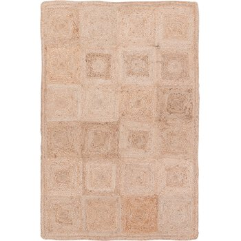 Ian Snow Hand Braided Jute Rug