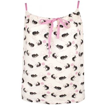 People Tree Cat Print Camisole