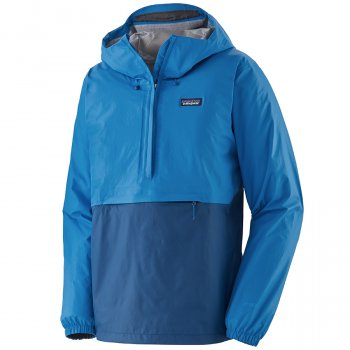 Patagonia Mens Torrentshell Pullover - Andes Blue